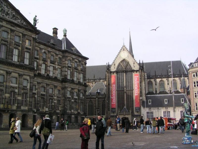 La plaza de Holanda