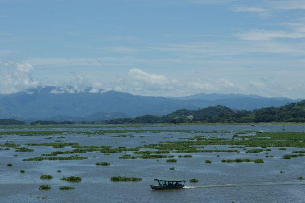 El lago Suchitlán
