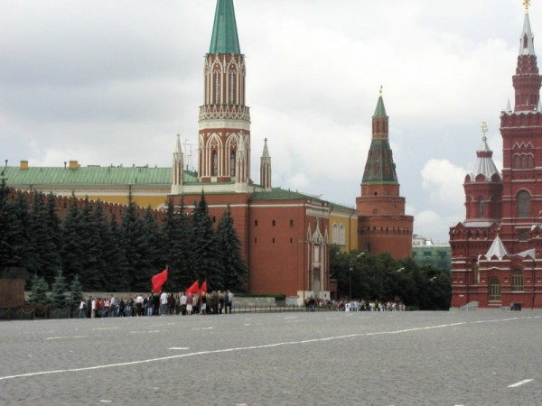 A Protest on Red Square