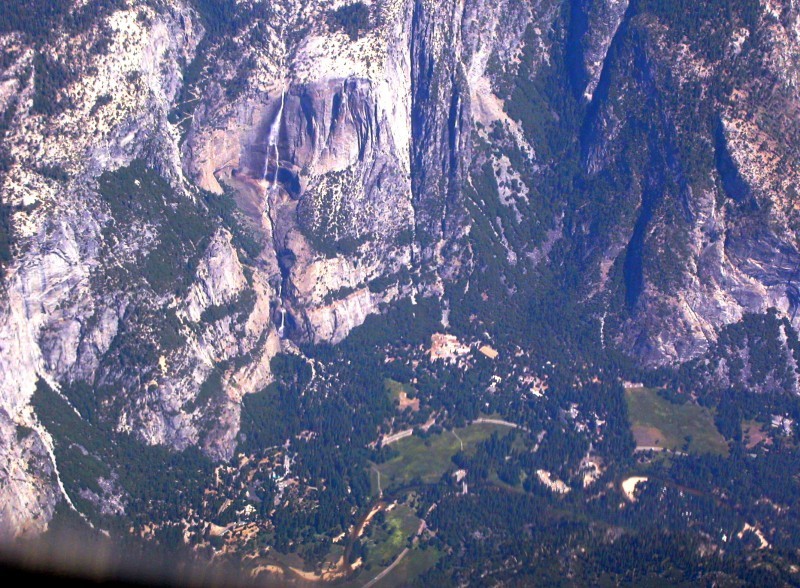 Yosemite Valley from the Air