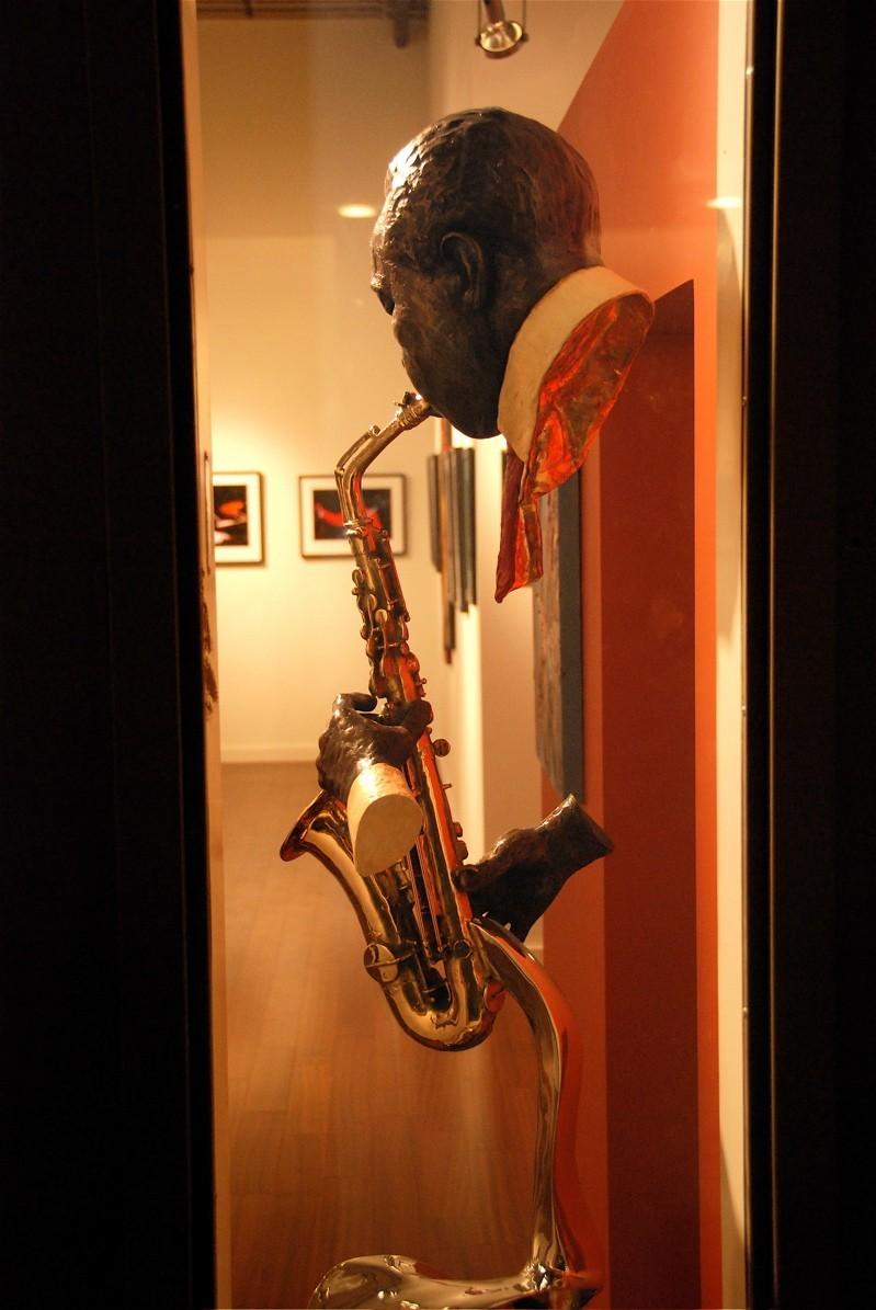 Jazz Musician Sculpture