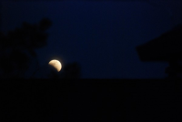 Lunar Eclipse over Pleasanton, California