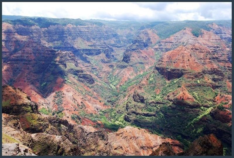 Waimea Canyon Kauai, Hawaii