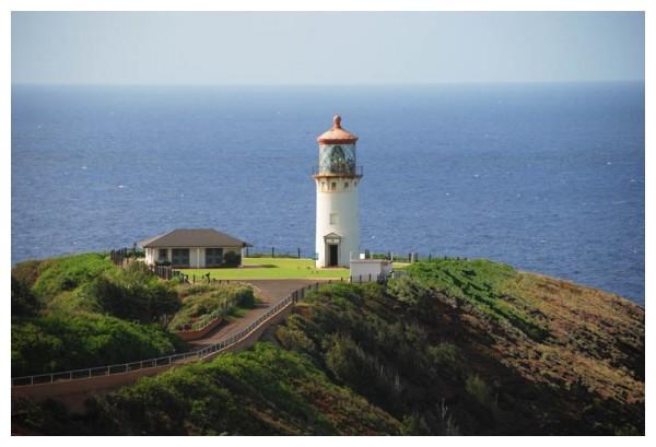 Lighthouse Kilauea National Wildlife Refuge
