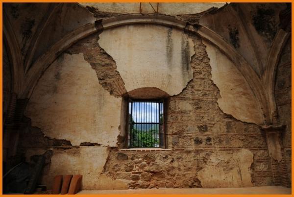 La Antigua, convent interior