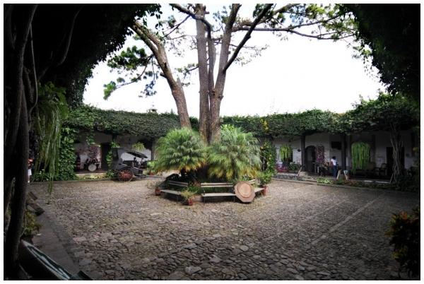 Courtyard, Antigua, Guatemala