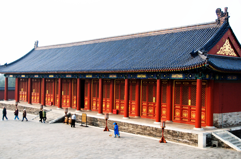 Temple of Heaven secondary structure