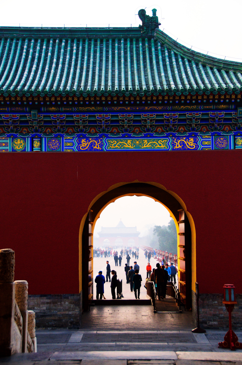 Gate, Temple of Heaven, Beijing