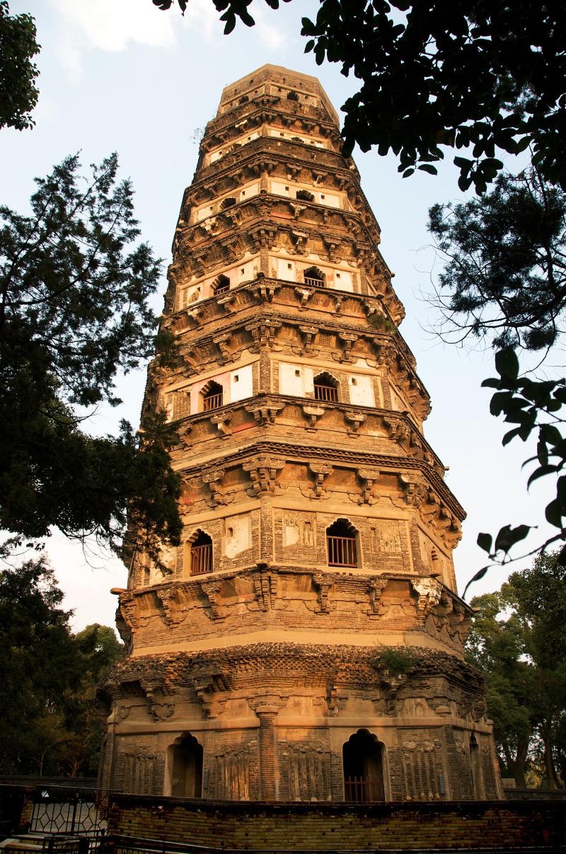Tiger Hill Pagoda, Suzhou China
