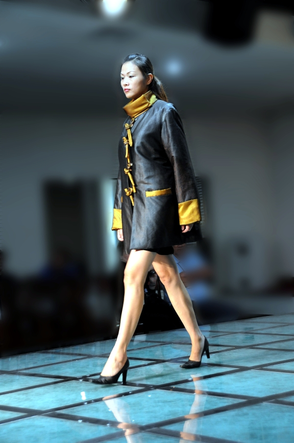 fashion model runway
