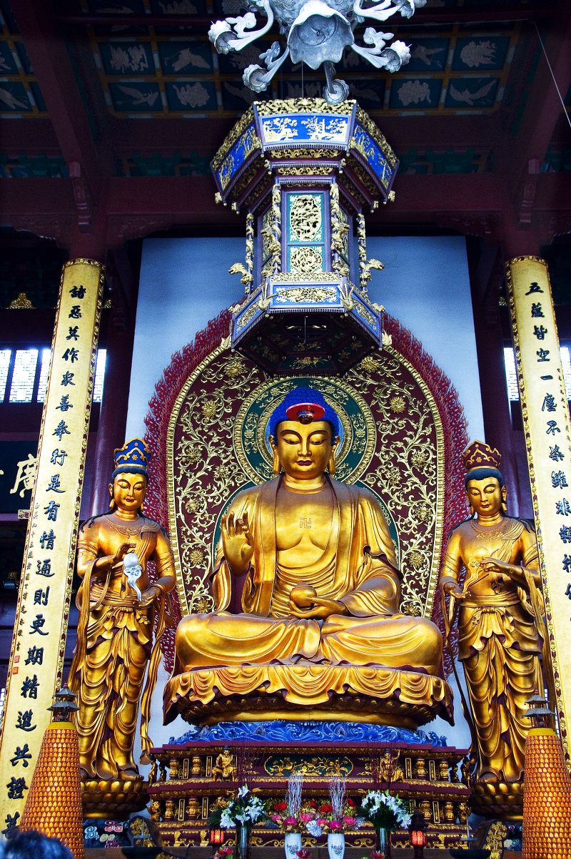 Golden Buddha Hangzhou China