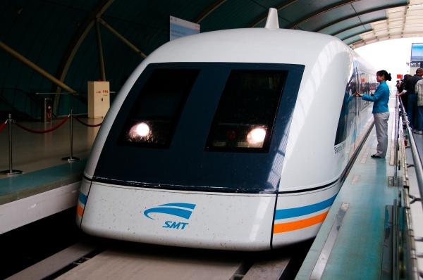 Maglev Train, Shanghai China