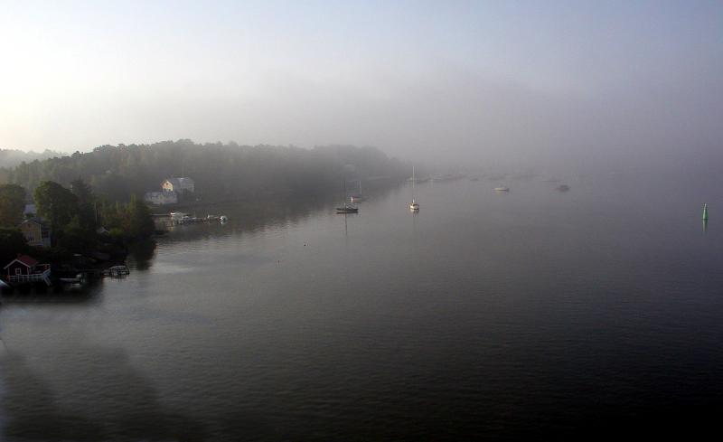 Foggy Port, Turku Finland