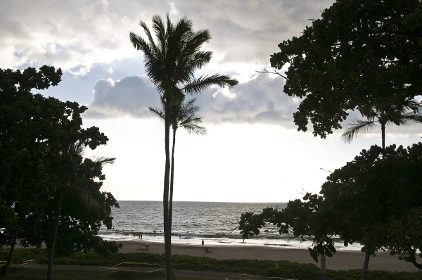 Clouds over Kapuna beach