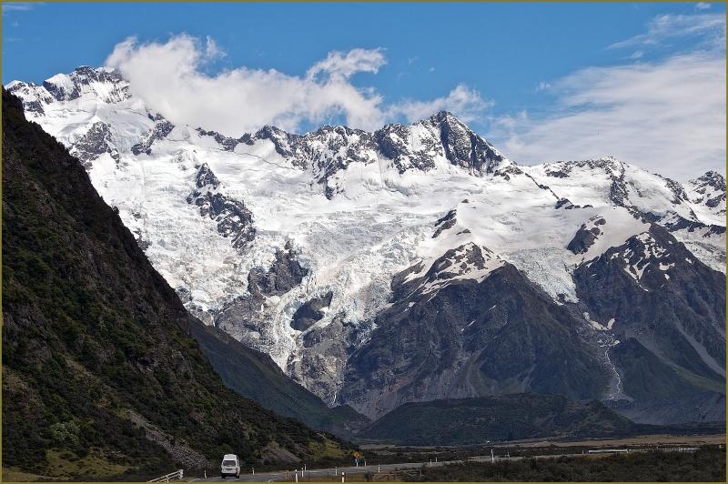 South Island New Zealand mountains