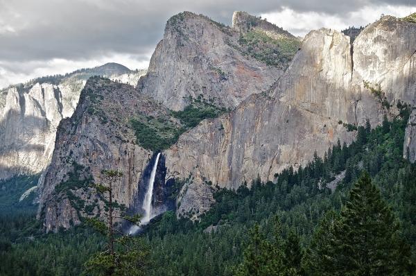 Water Fall Yosemite