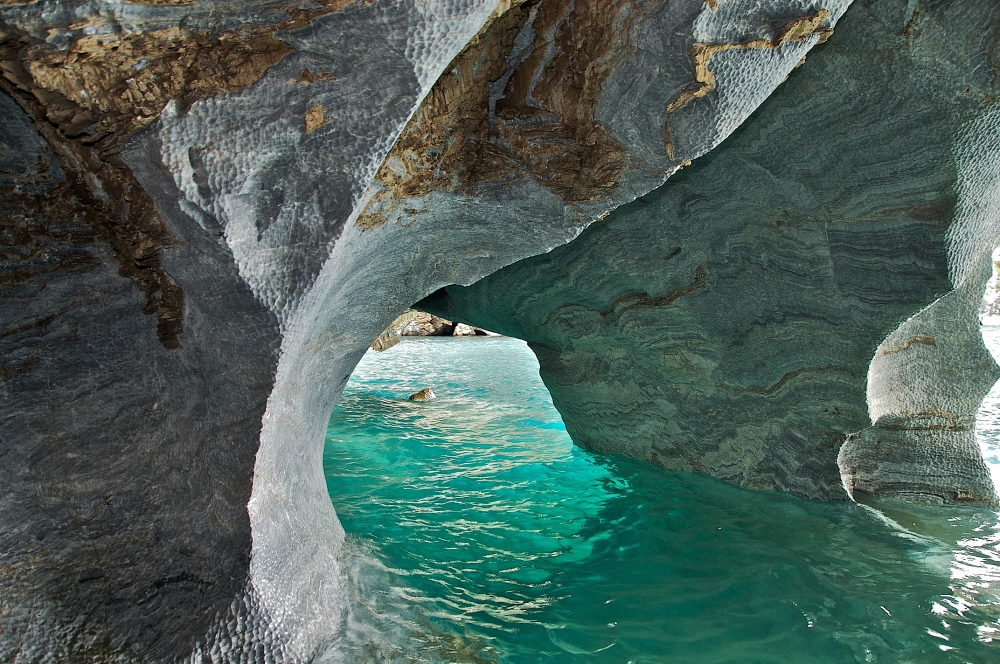 Marble Caves Aysen Chile