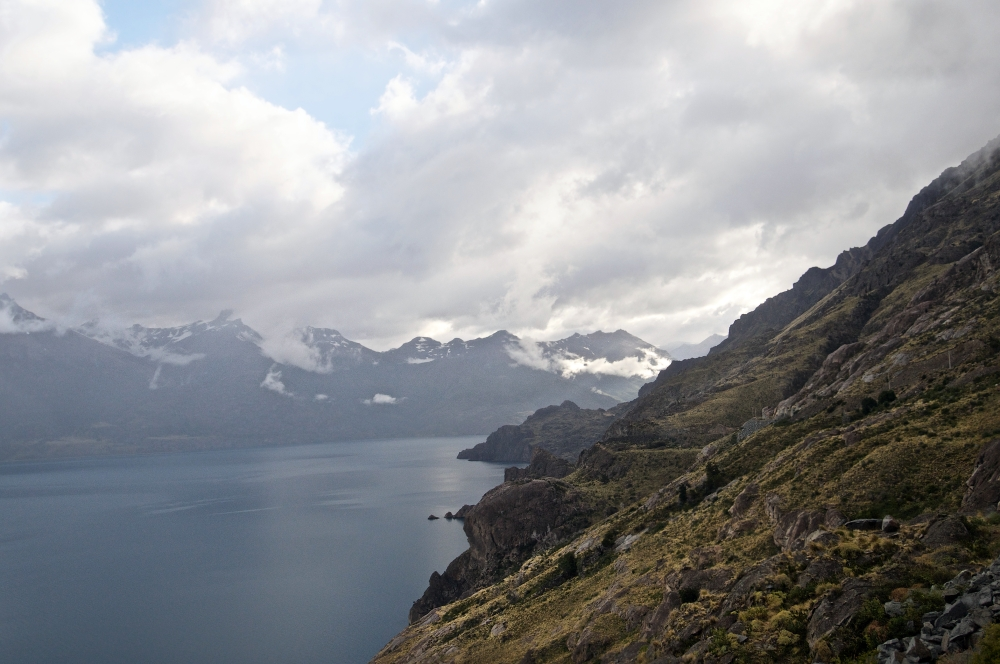 Lago JM Carrera Aysen Chile