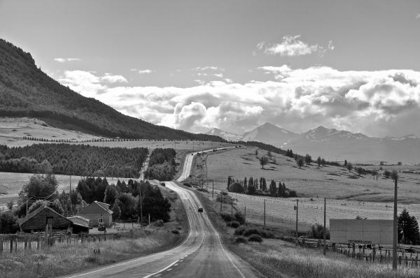 Road: Aysen Region, Chile
