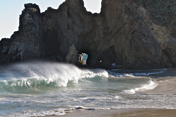 Pfeiffer Beach Rocks, California