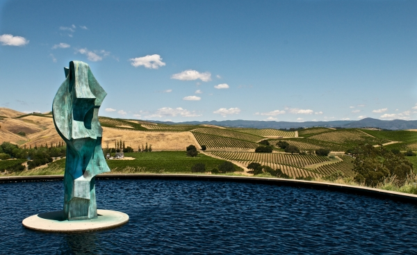 Artesa Vineyard Winery Napa California
