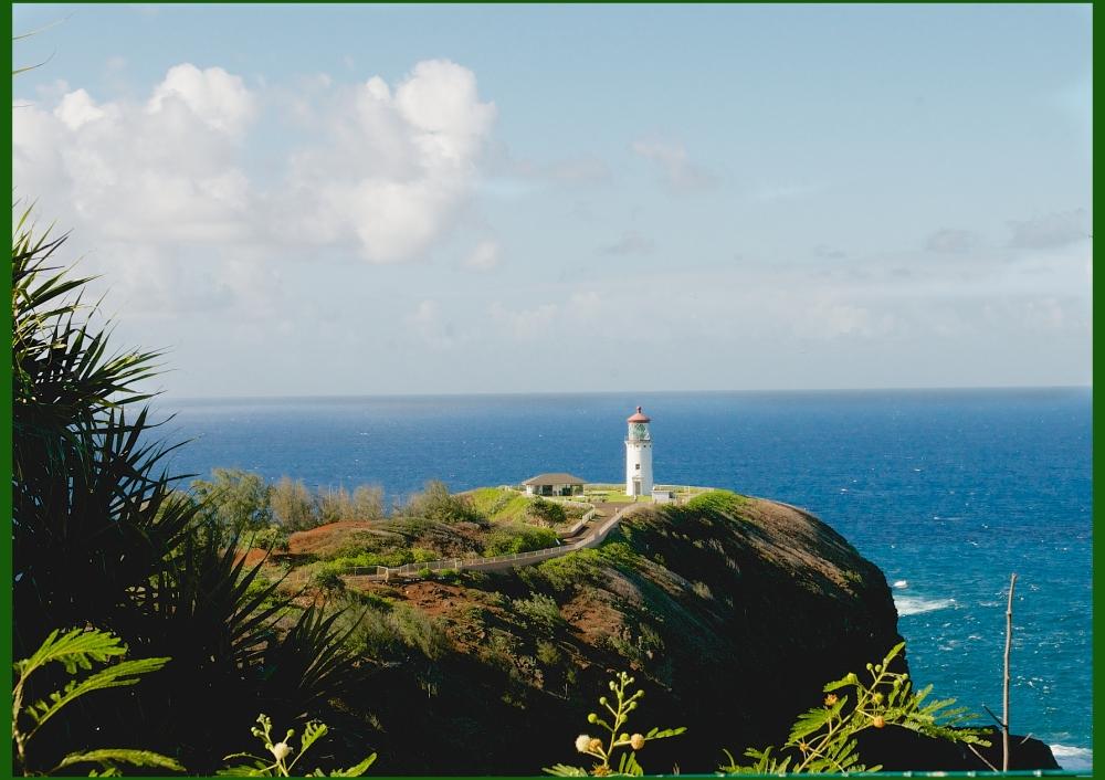 Kilahuea Lighthouse Kauai Hawaii