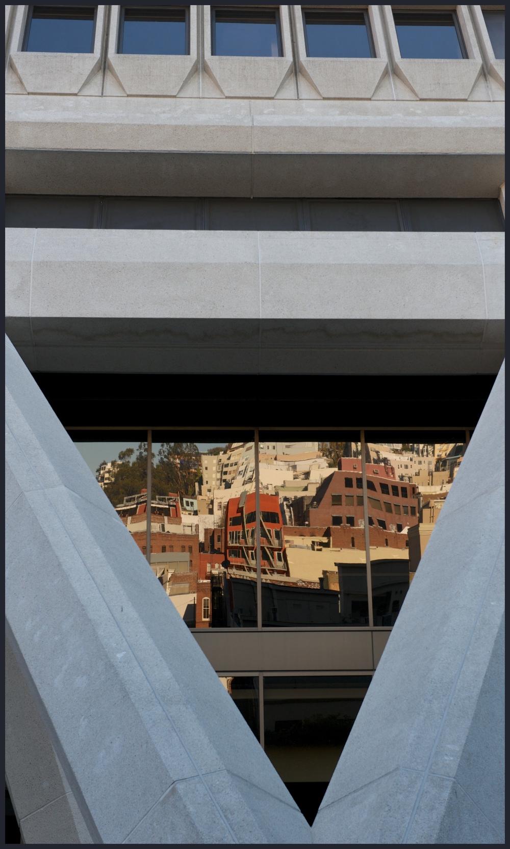 TransAmerican Pyramid San Francisco CA window