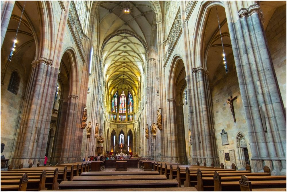 St. Vitus's Cathedral Interior