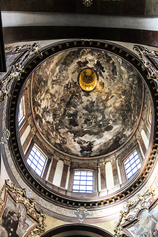 St Nicholas Church Interior Prague