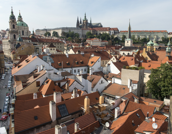 Streets and Roofs of Prague