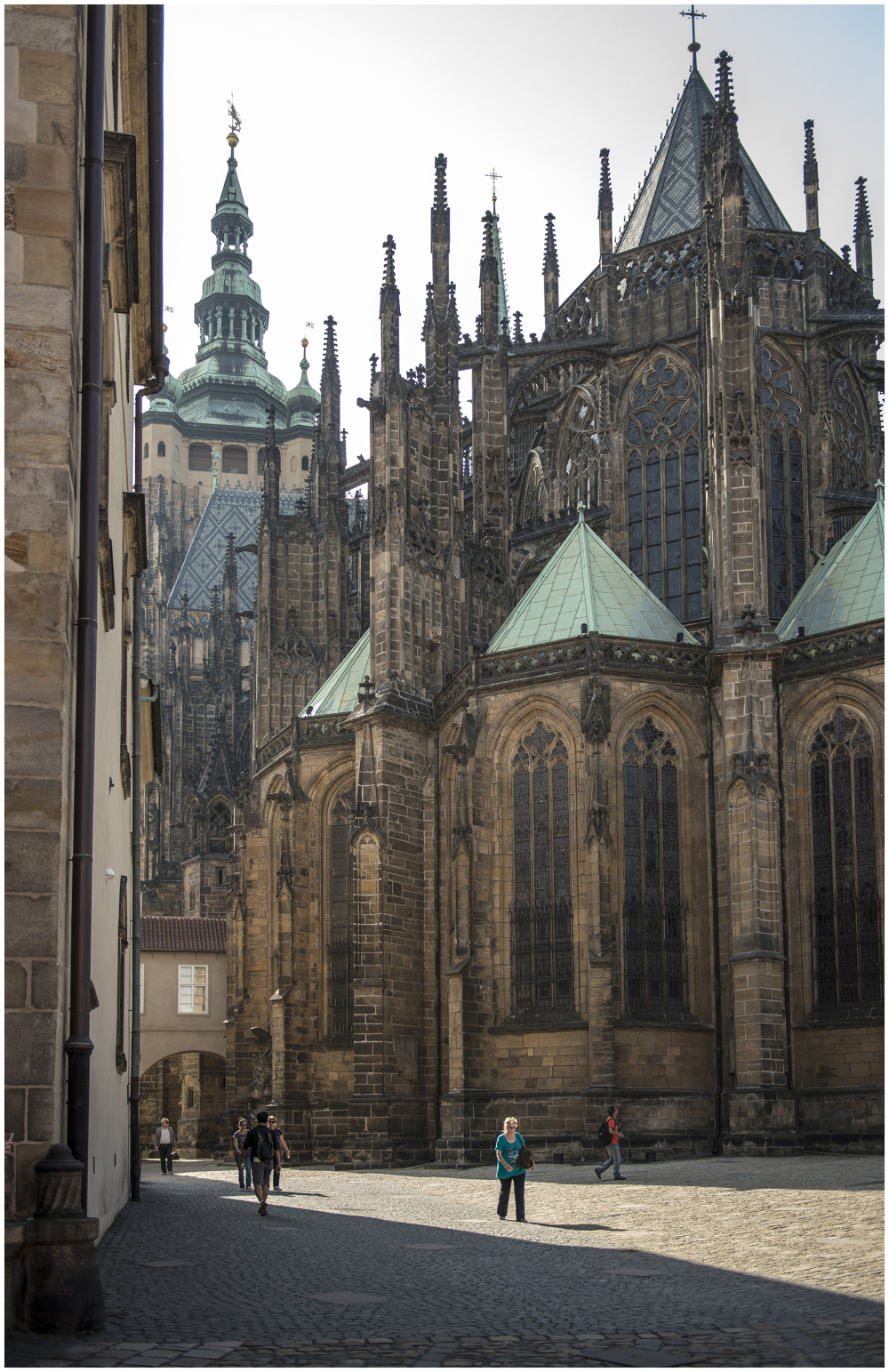 St Vitus Cathedral  Prague Czech Republic