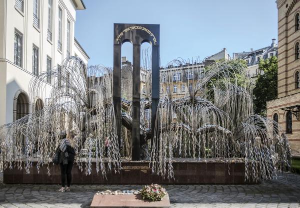 Willow Tree Memorial Budapest Hungary