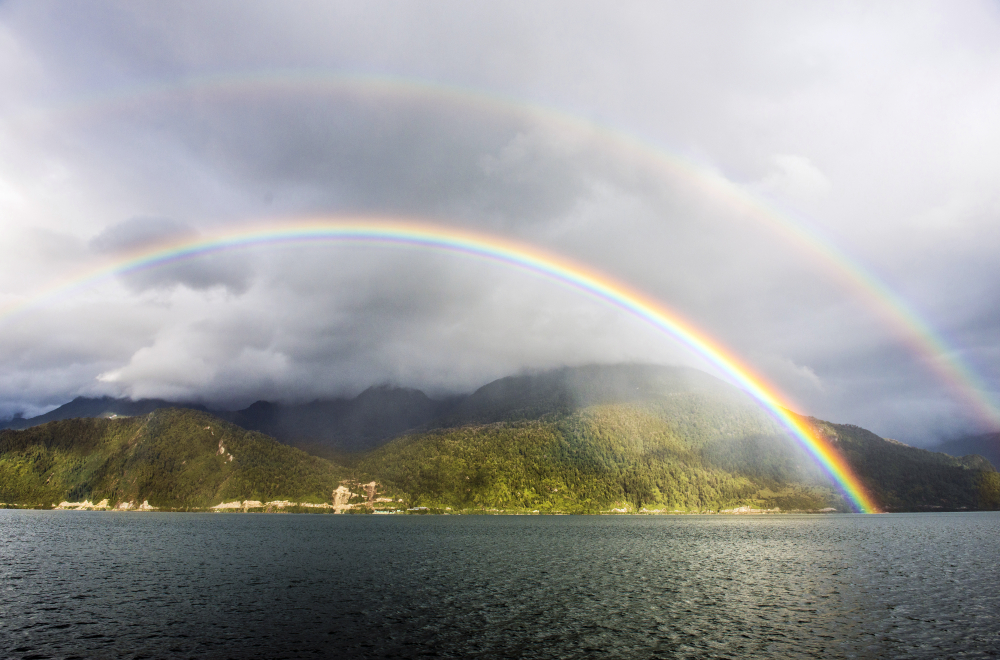 Rainbows Southern Chile Patagonia
