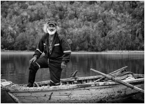 Fisherman Aysen Chile