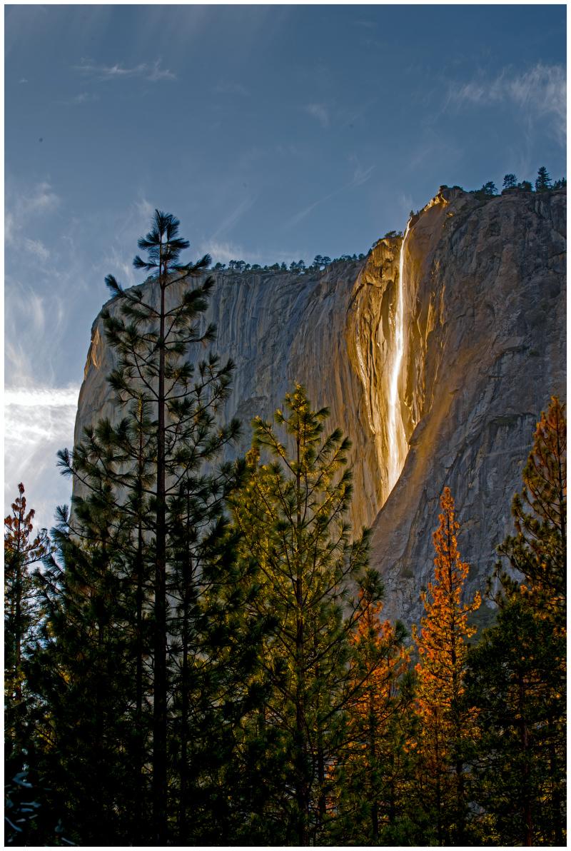 Yosemite Natural Firefall