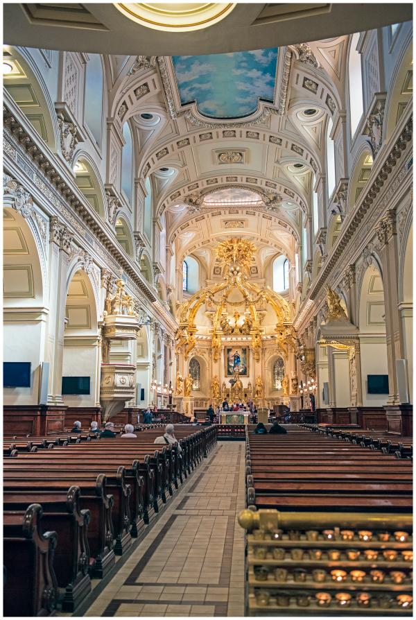 Basilique Notre Dame de Quebec, Canada
