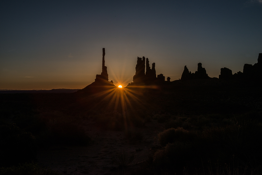 Monument Valley at Dawn