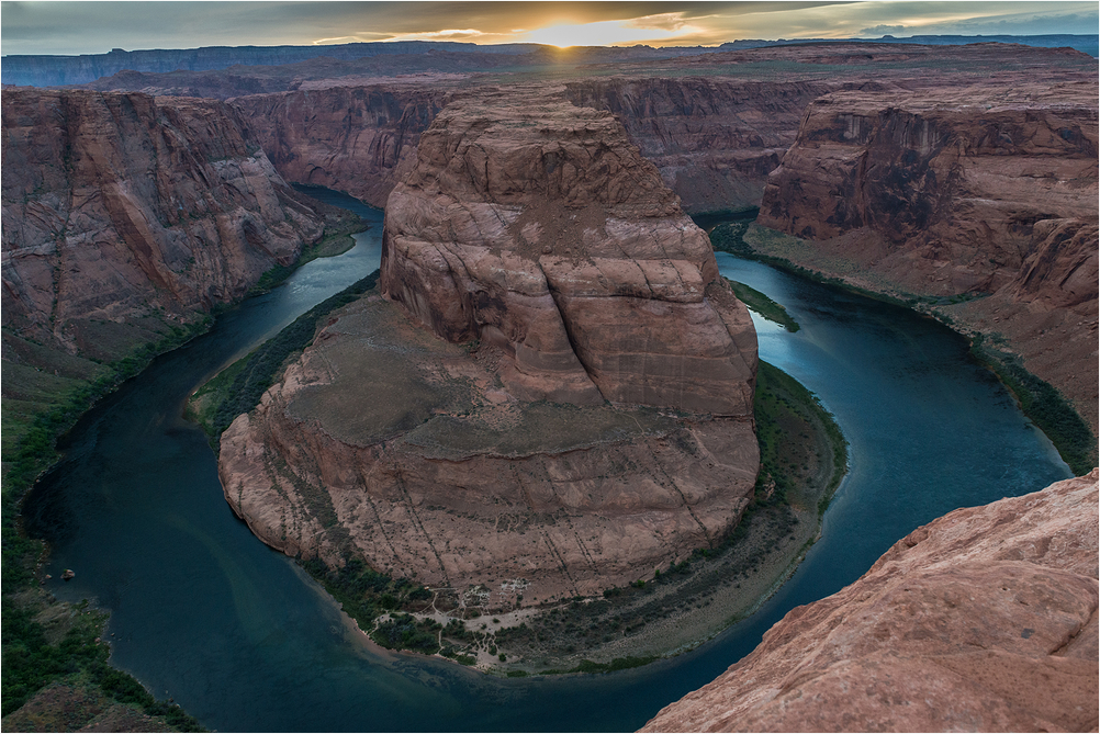 Horseshoe Bend of Colorado River
