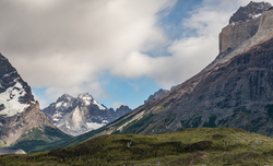 Torres del Paine National Park  Patagonia  Chile