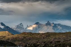 Torres del Paine National Park  Mountain range