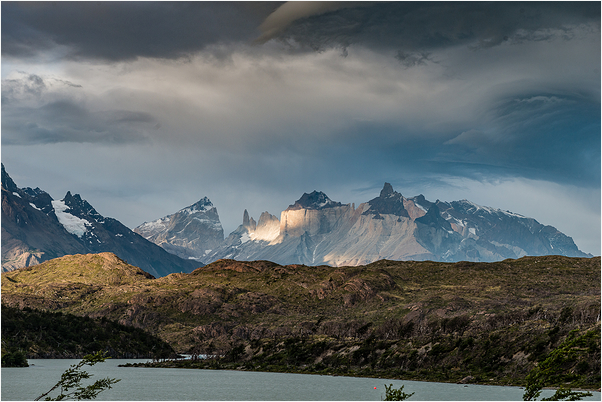 Torres del Paine National Park  Mountain range