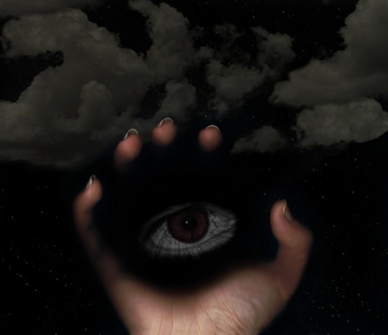 darkness hand