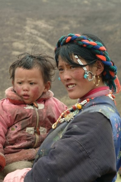 nomade tibétaine