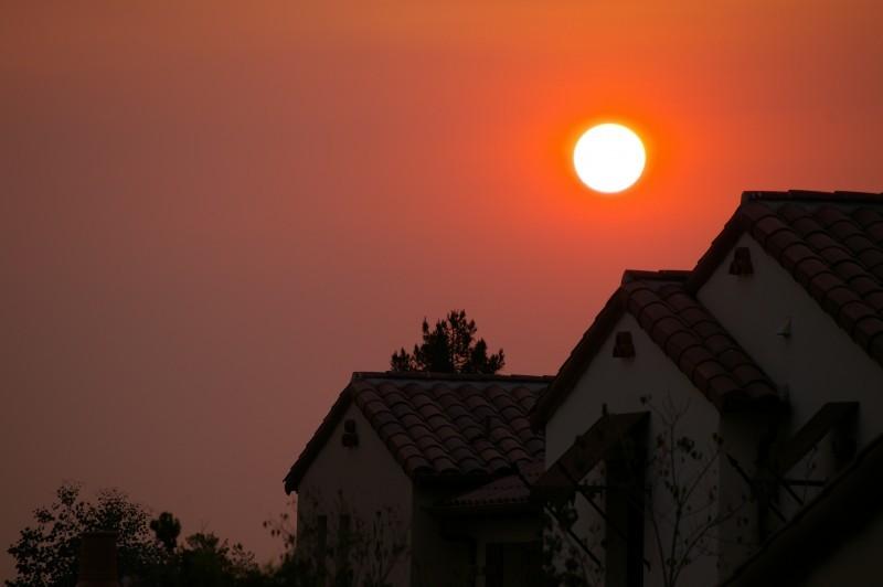 Sunset with Pentax DA 50-200