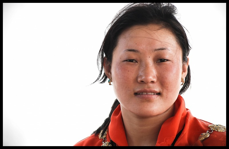 A beautiful face from Bhutan