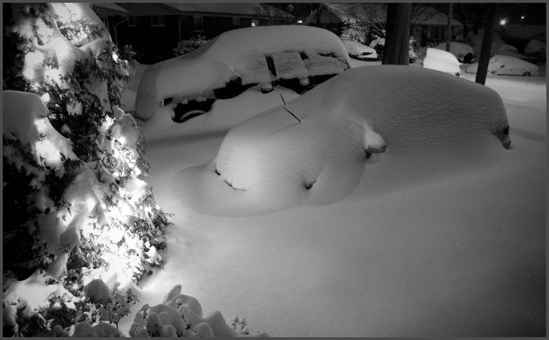 snowstorm in washington dc, dec 19, 2008