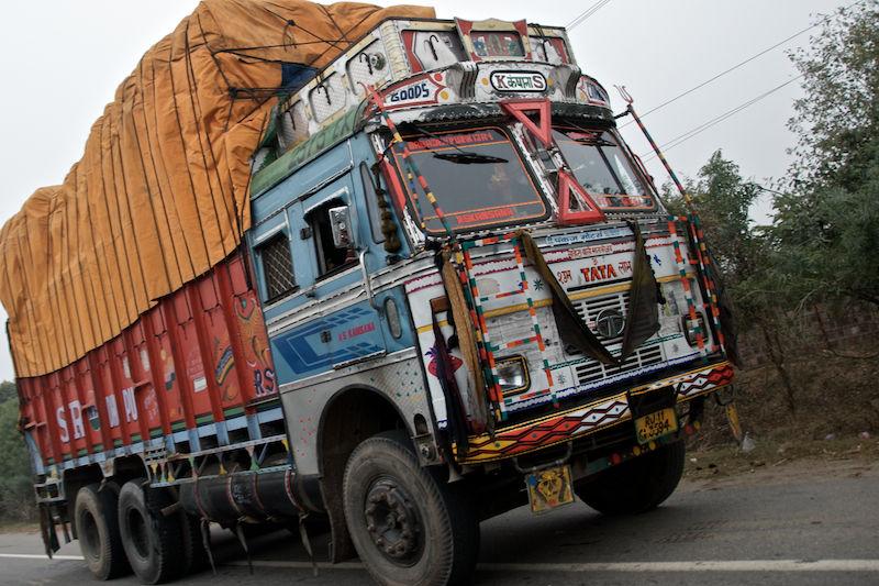 India Decorated Truck