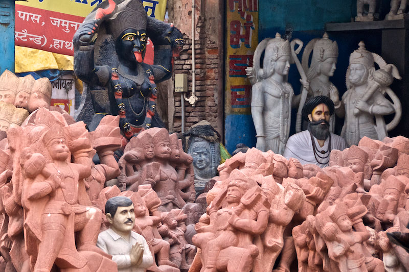 India Ceramic Kali