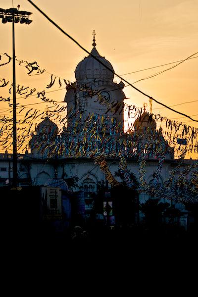Leaving Golden Temple - Amritsar, India