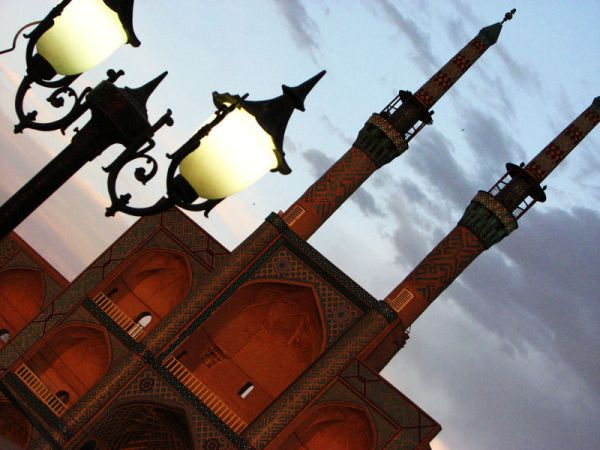minarets of mirchamagh in yazd